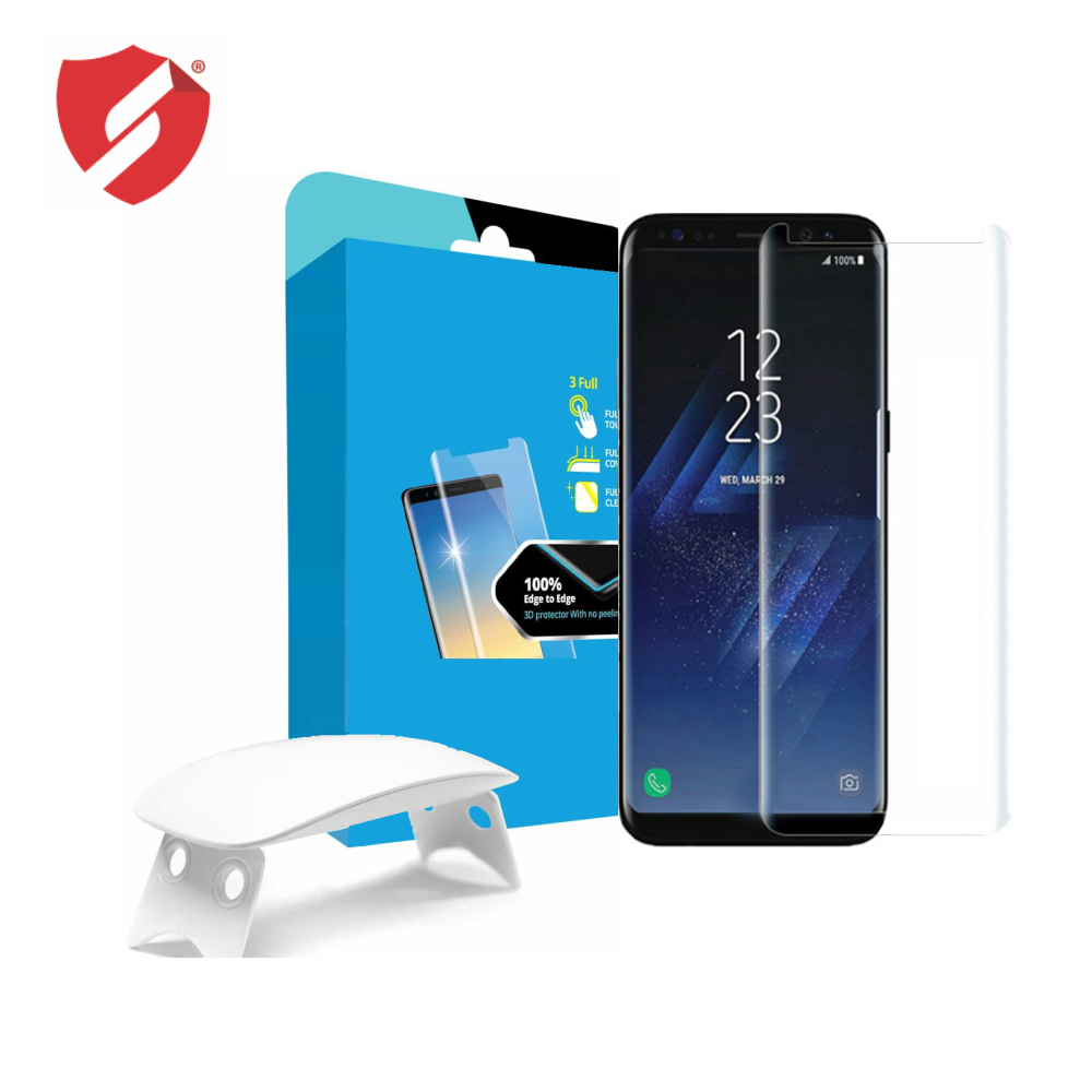 Tempered Glass - Ultra Smart Protection Liquid Loca Samsung Galaxy S8 Plus imagine