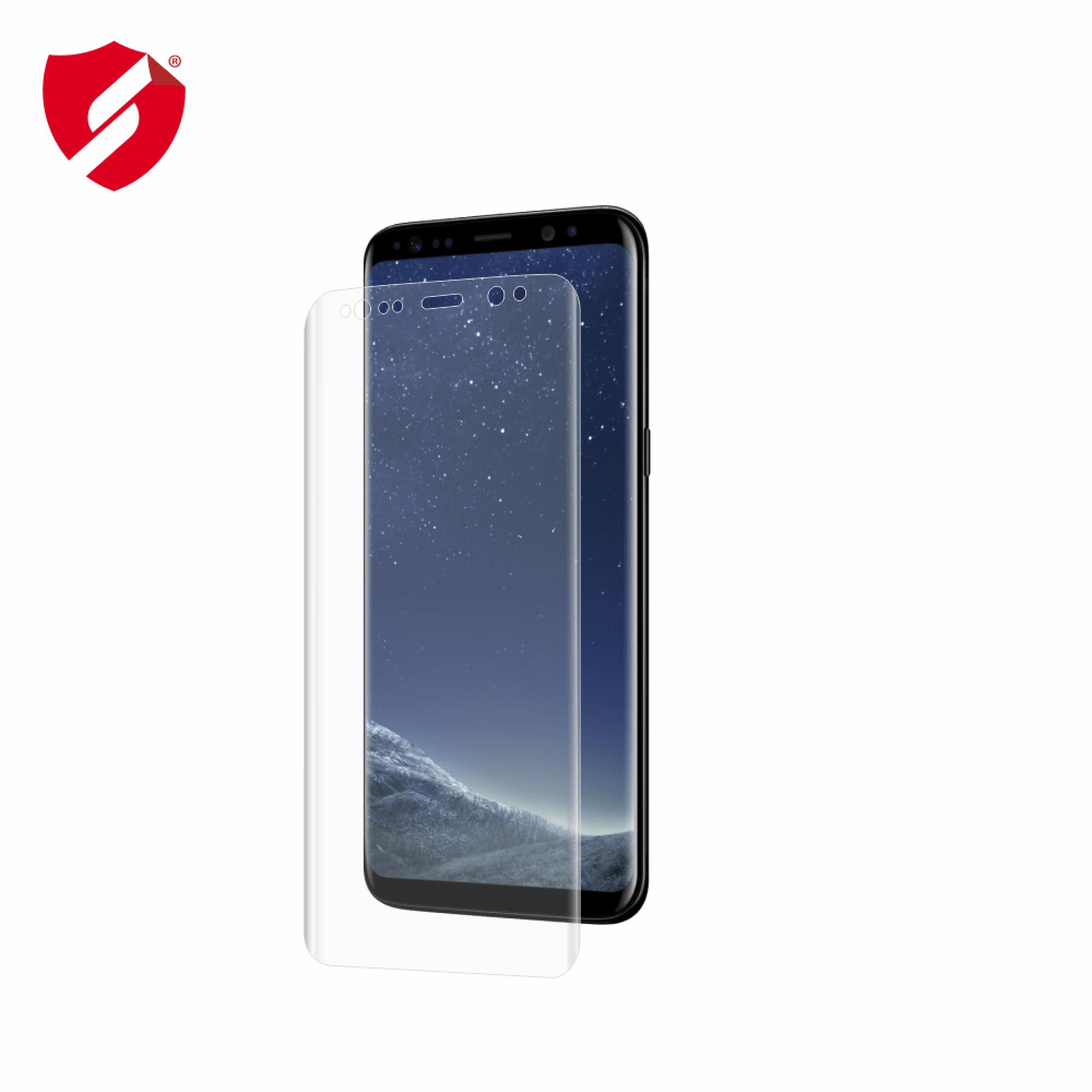 Folie de protectie Antireflex Mata Smart Protection Samsung Galaxy S8 Plus - doar display imagine