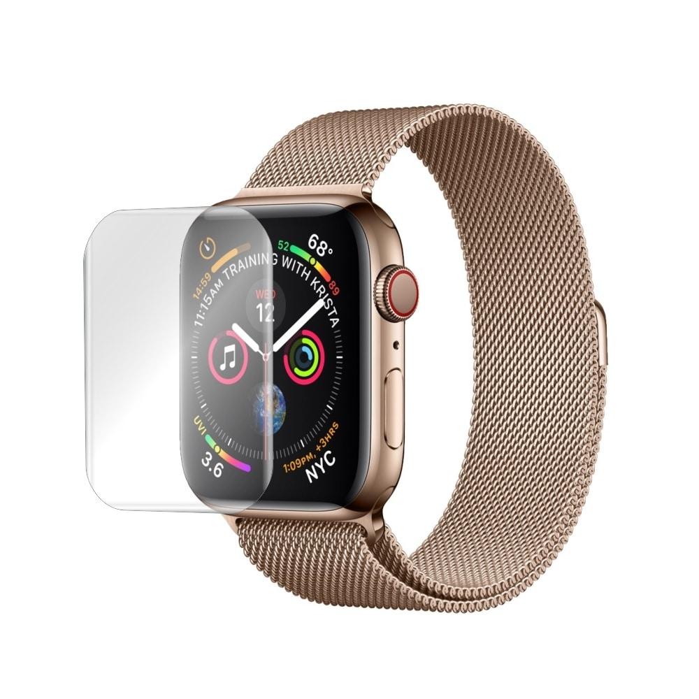 Folie de protectie Antireflex Mata Smart Protection Apple Watch Series 2 si 3 de 42mm - 2buc x folie display imagine