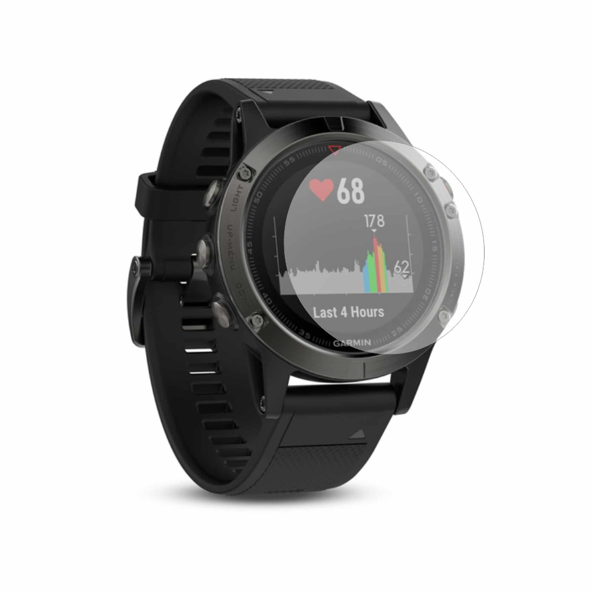 Folie de protectie Smart Protection Smartwatch Garmin Fenix 5x - 4buc x folie display imagine