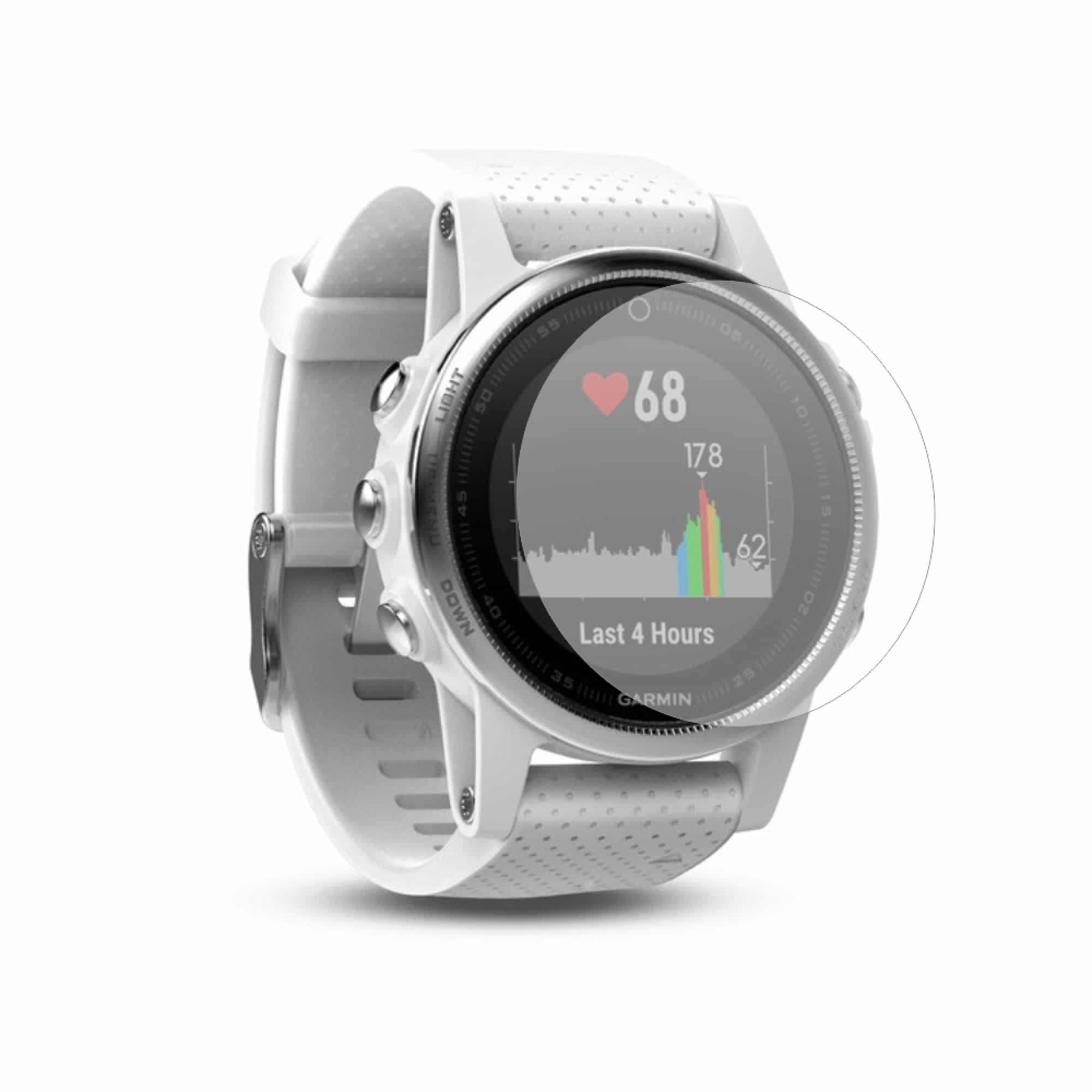 Folie de protectie Antireflex Mata Smart Protection Garmin Fenix 5s - 2 folii pentru display imagine