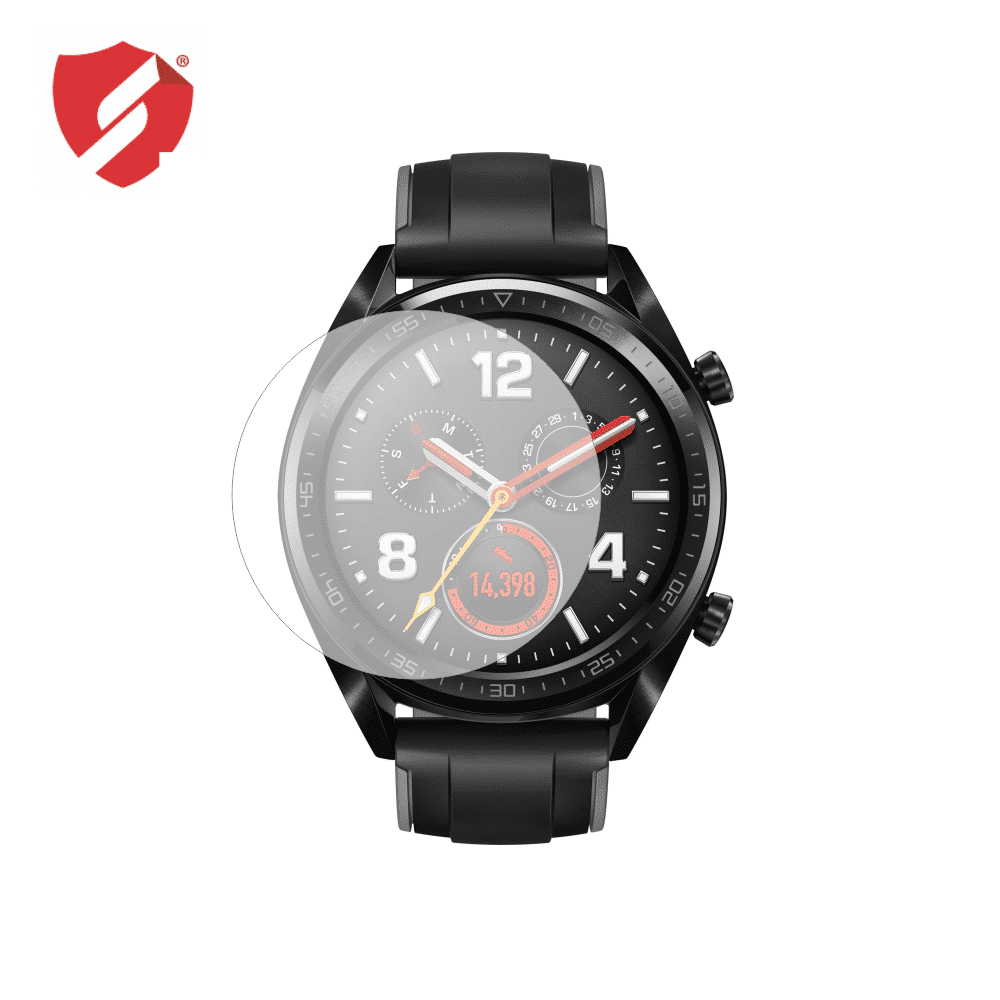 Folie De Protectie Antireflex Mata Smart Protection Smartwatch Huawei Watch Gt - 2 Folii Pentru Display
