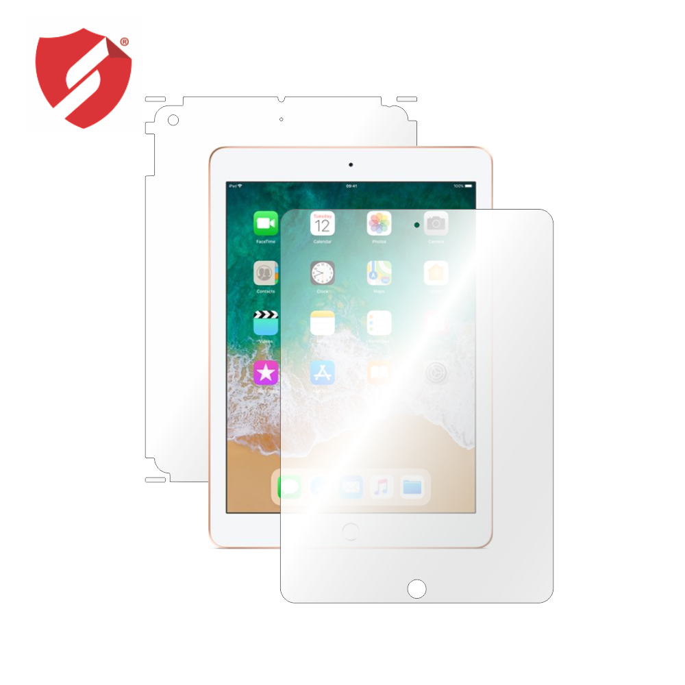 Folie de protectie Smart Protection Tableta iPad 5 / iPad 9.7 2018 - fullbody - display + spate + laterale imagine