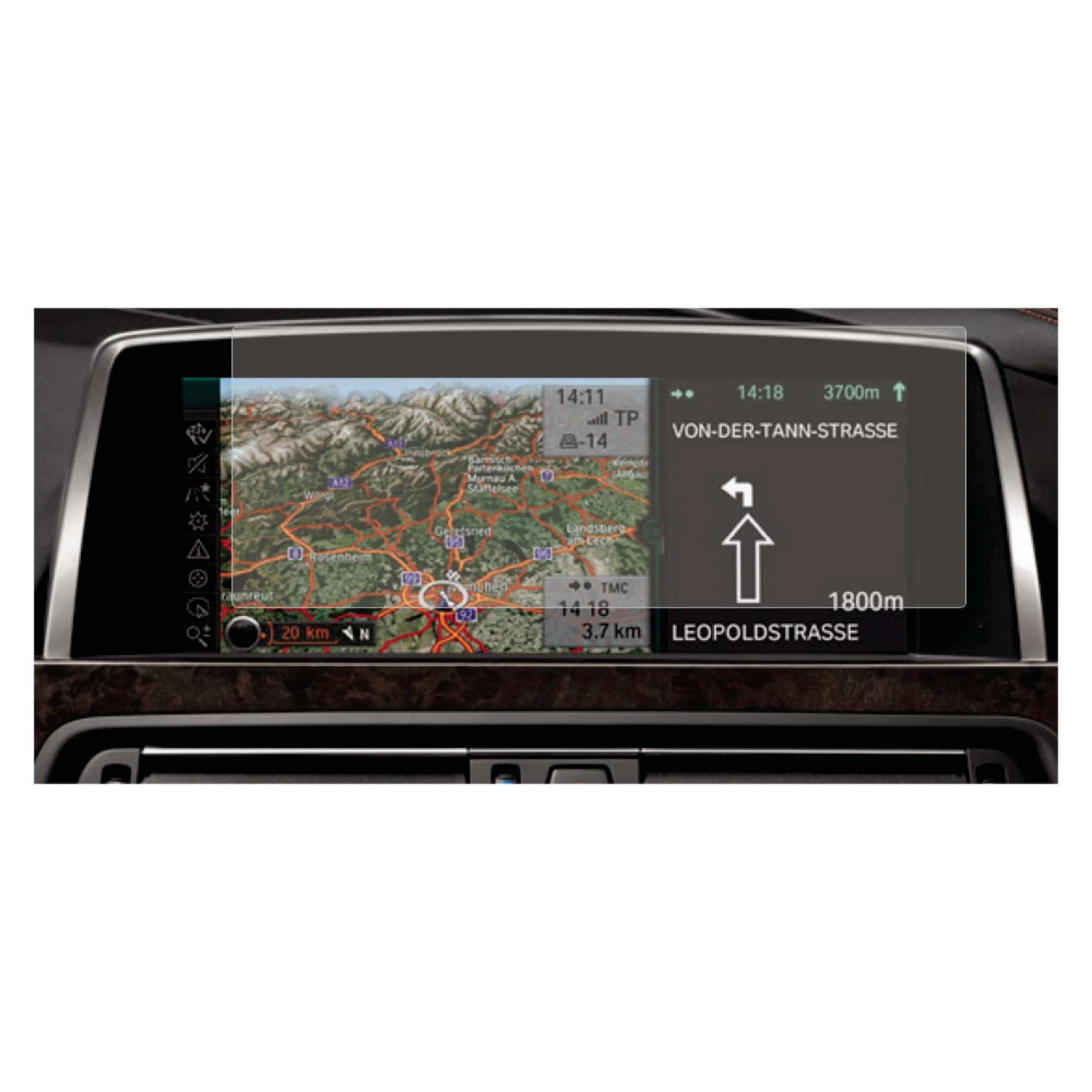 Folie de protectie Antireflex Mata Smart Protection Navi BMW Seria 3 F30 2012 NBT - doar display imagine