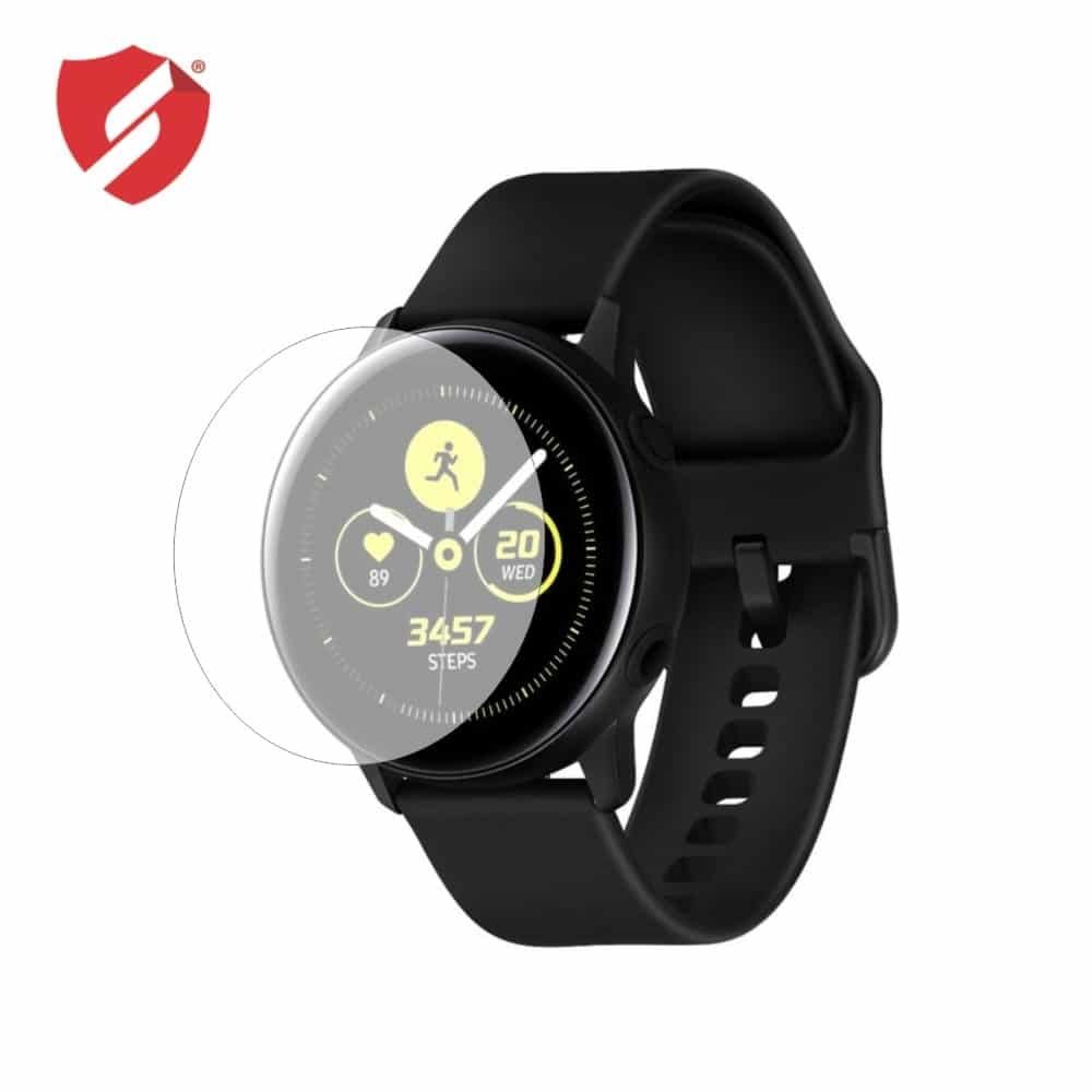 Folie de protectie Smart Protection Smartwatch Samsung Galaxy Watch Active - 2buc x folie display imagine