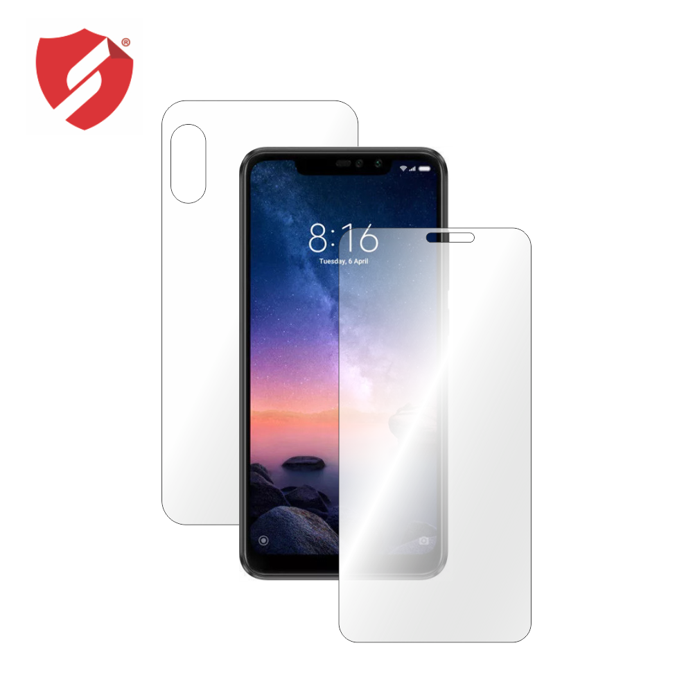 Folie de protectie Smart Protection Xiaomi Redmi Note 6 Pro - fullbody-display-si-spate imagine