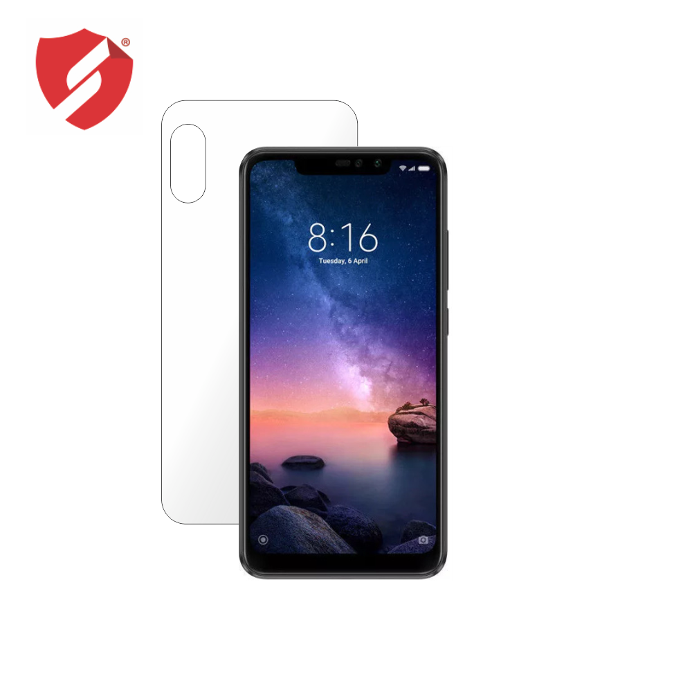 Folie de protectie Smart Protection Xiaomi Redmi Note 6 Pro - doar spate imagine