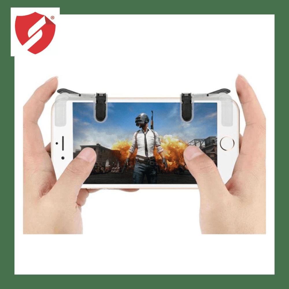 Butoane speciale de gaming pentru telefoane compatibile PUBG mobile imagine