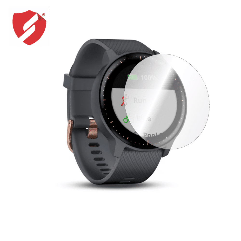 Folie de protectie Smart Protection Smartwatch Garmin Vivoactive 3 Music - 4buc x folie display imagine