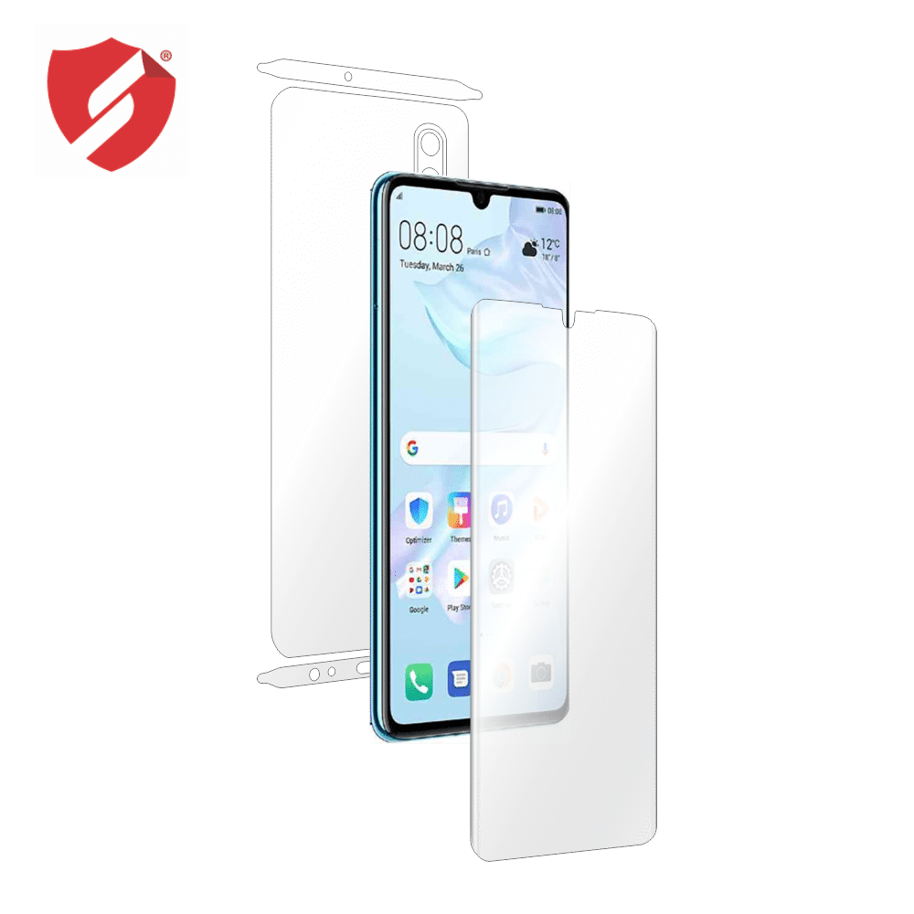 Folie de protectie Smart Protection Huawei P30 - fullbody - display + spate + laterale imagine