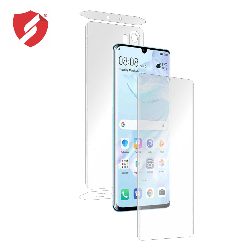 Folie de protectie Smart Protection Huawei P30 Pro compatibila cu Clear Case - fullbody - display + spate + laterale imagine