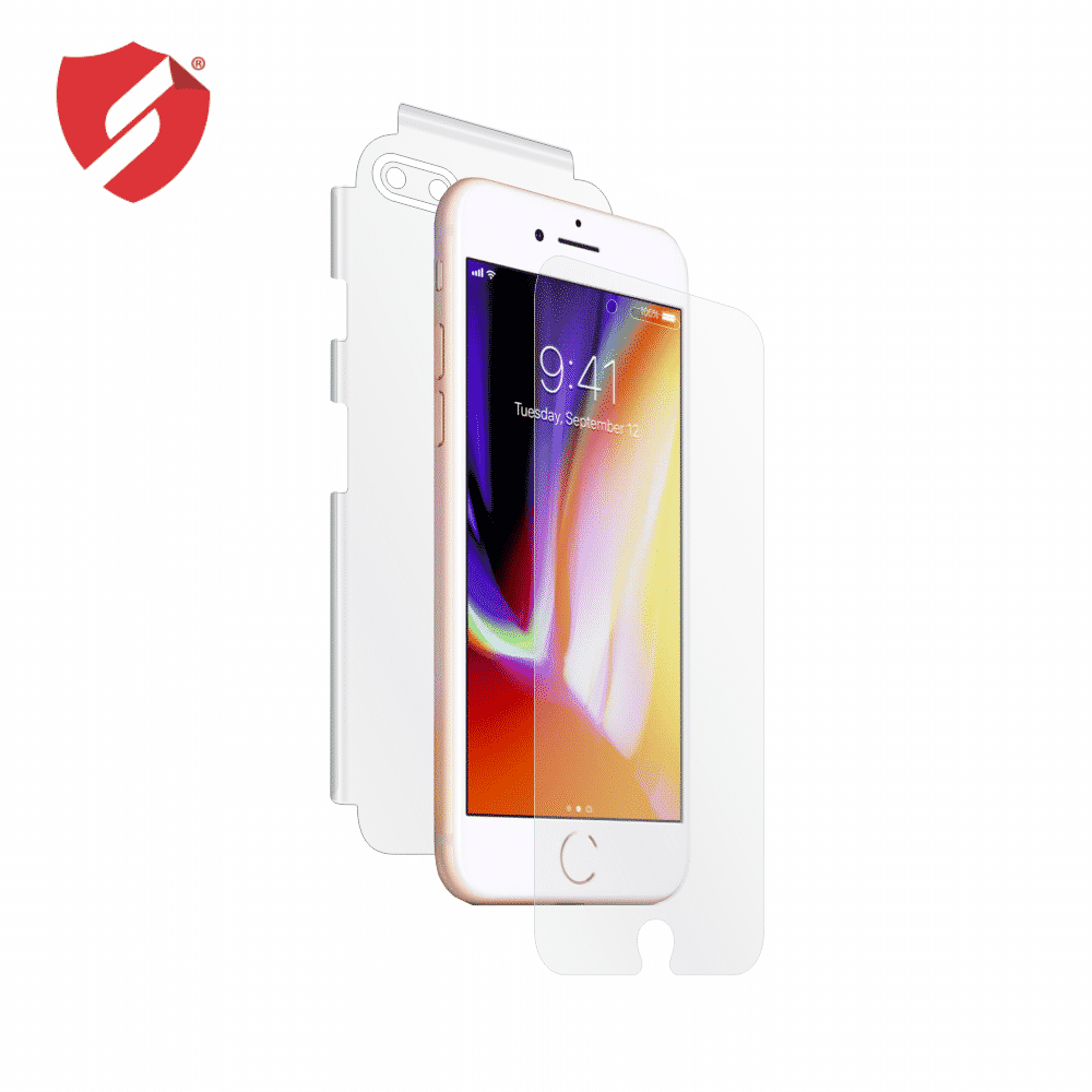 Tempered Glass - Ultra Smart Protection Iphone 7 Plus Fulldisplay alb - Ultra Smart Protection Display + Clasic Smart Protection spate + laterale imagine