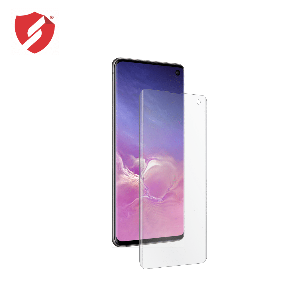 Folie de protectie Smart Protection Samsung Galaxy S10 compatibila cu carcasa UAG Plasma - doar-display imagine