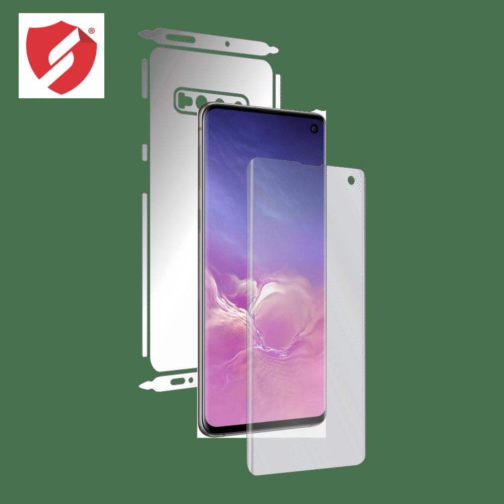 Folie de protectie Antireflex Mata Smart Protection Samsung Galaxy S10 - fullbody - display + spate + laterale imagine