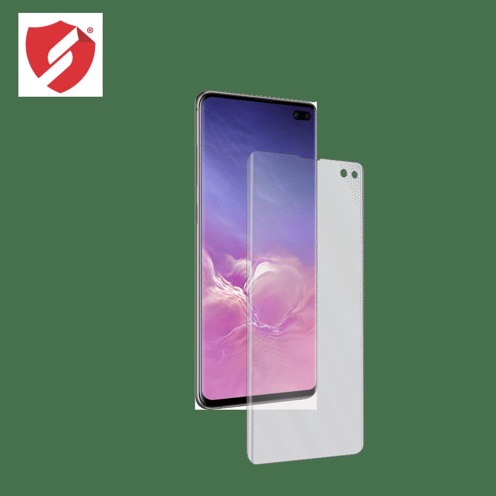 Folie de protectie Smart Protection Samsung Galaxy S10 Plus compatibila cu carcasa UAG Pathfinder - doar-display imagine