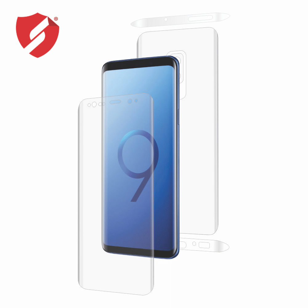 Folie de protectie Antireflex Mata Smart Protection Samsung Galaxy S9 - fullbody - display + spate + laterale imagine