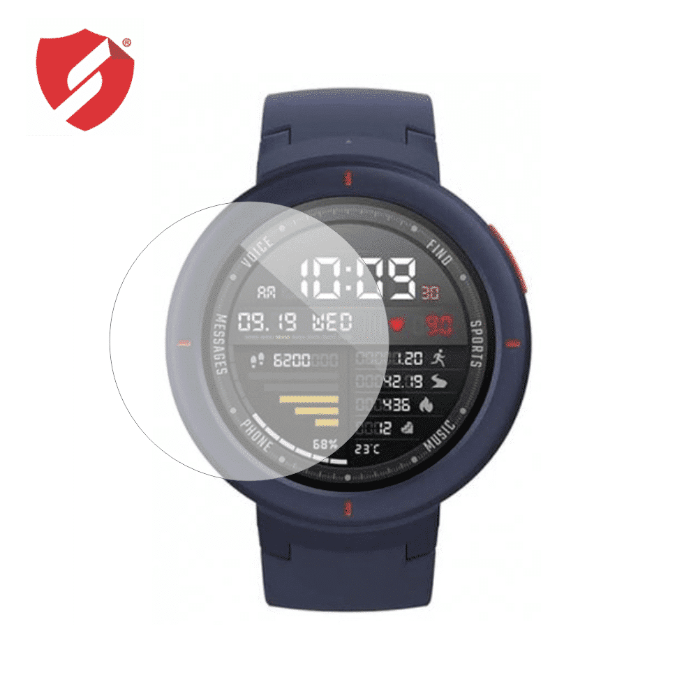 Folie de protectie Antireflex Mata Smart Protection Xiaomi Amazfit Verge - 2buc x folie display imagine