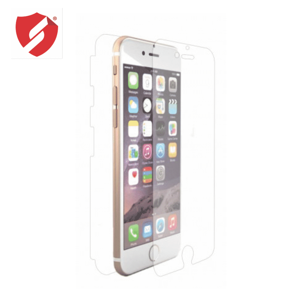 Tempered Glass - Ultra Smart Protection Iphone 6 fulldisplay negru - Ultra Smart Protection Display + Clasic Smart Protection spate + laterale imagine