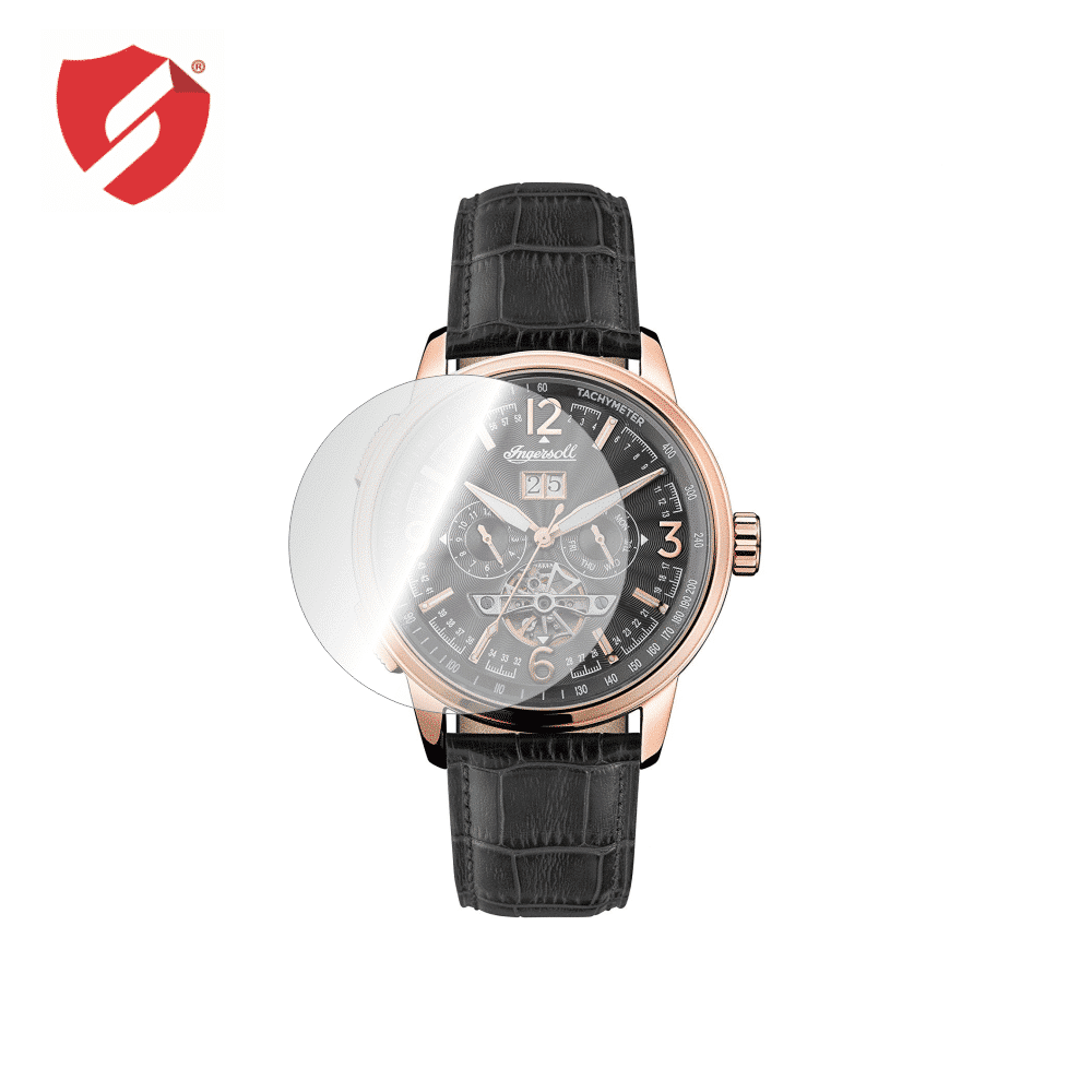 Folie De Protectie Smart Protection Ceas Ingersoll The Regent I00302 / The Trenton I04901 43mm - 4buc X Folie Display