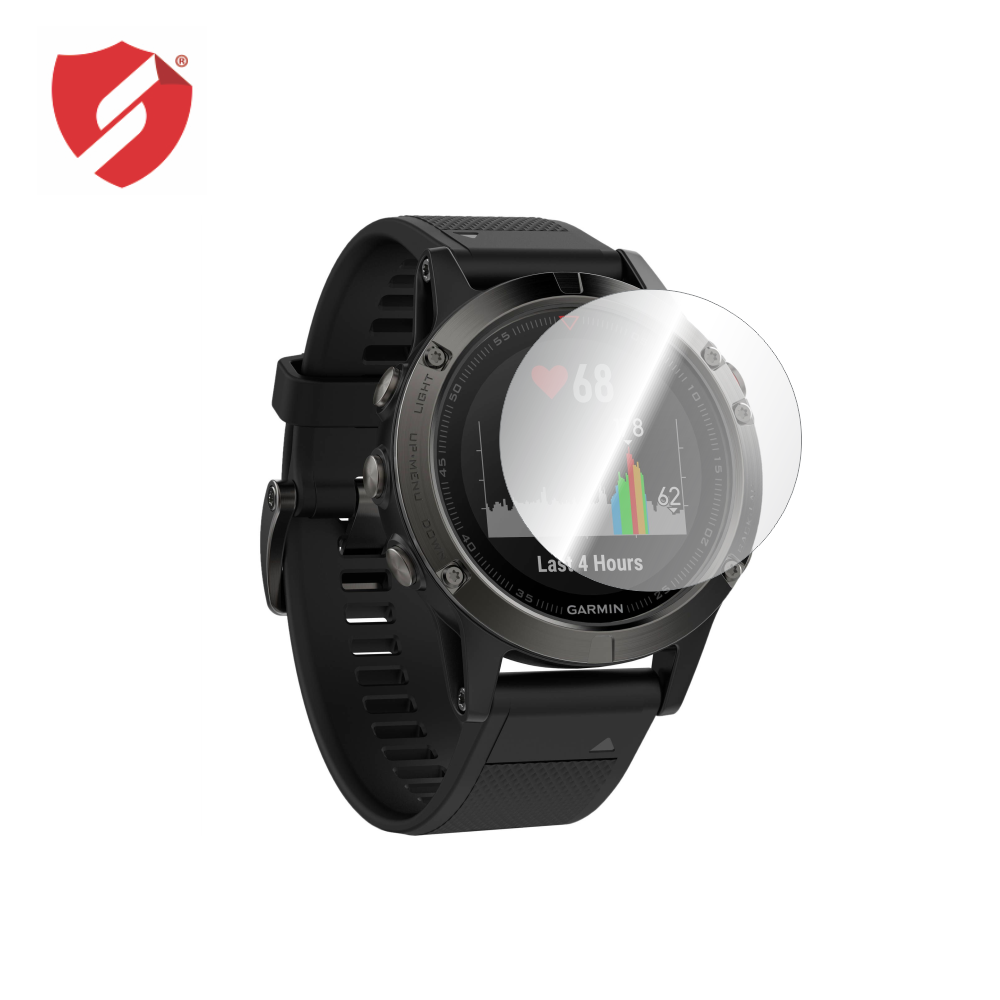 Folie de protectie Smart Protection Smartwatch Garmin Fenix 5 - 2buc x folie display imagine
