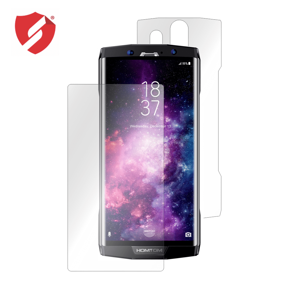 Folie de protectie Smart Protection HomTom HT70 - fullbody-display-si-spate imagine