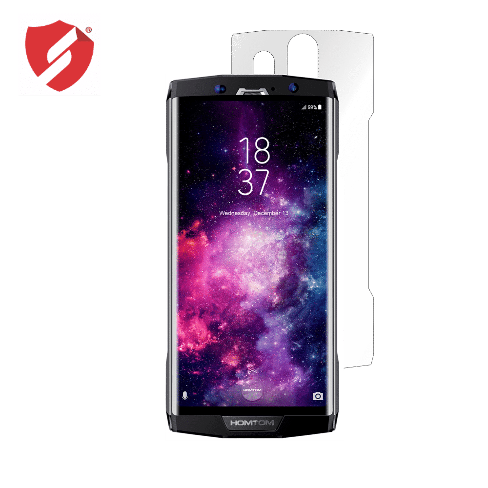 Folie de protectie Smart Protection HomTom HT70 - doar spate imagine