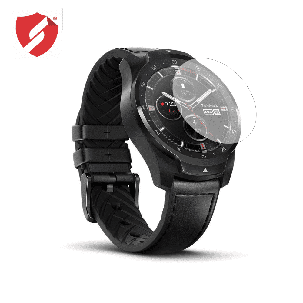 Folie de protectie Smart Protection Ceas Mobvoi Ticwatch Pro - 2buc x folie display imagine