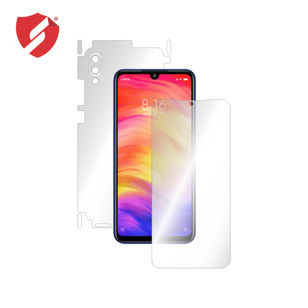 Folie de protectie Smart Protection Xiaomi Redmi 7 - fullbody - display + spate + laterale imagine
