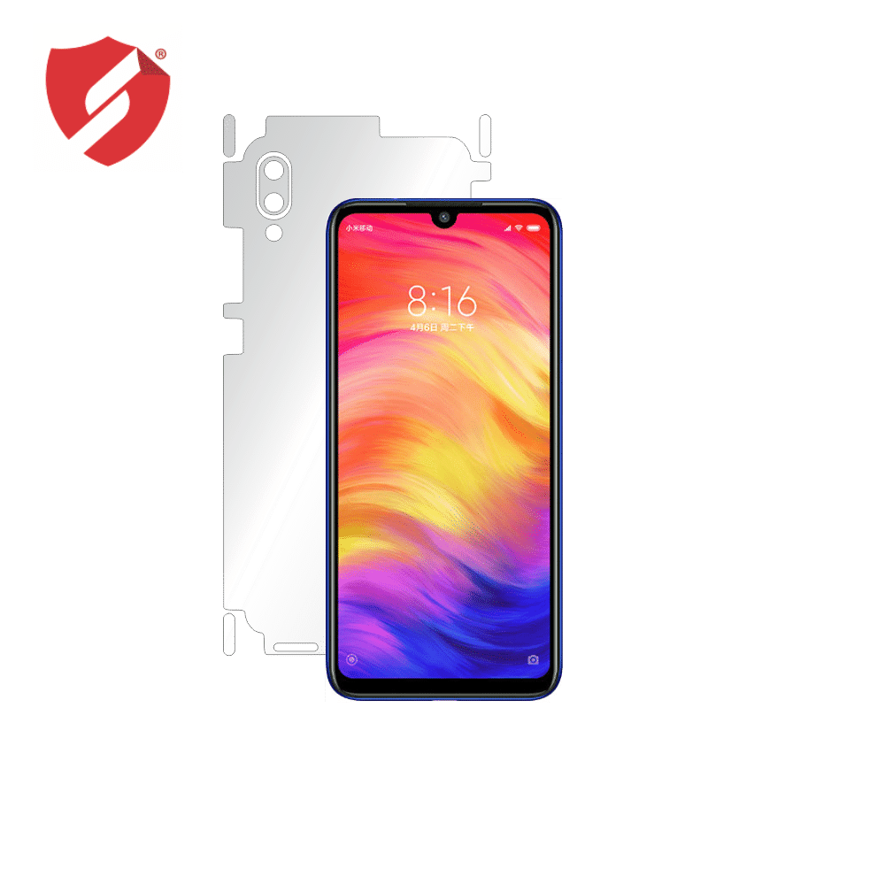 Folie de protectie Smart Protection Xiaomi Redmi 7 - doar-spate+laterale imagine