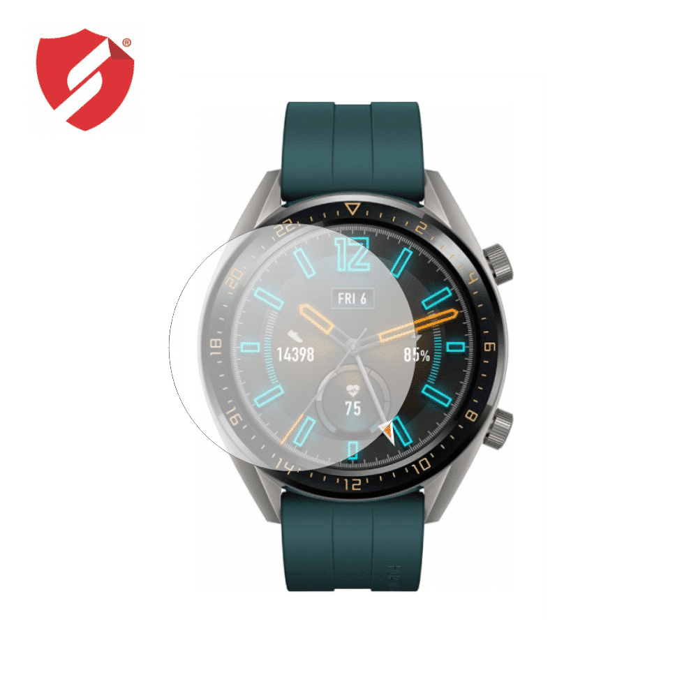 Folie de protectie Smart Protection Smartwatch Huawei Watch GT Active 46mm - 2buc x folie display imagine