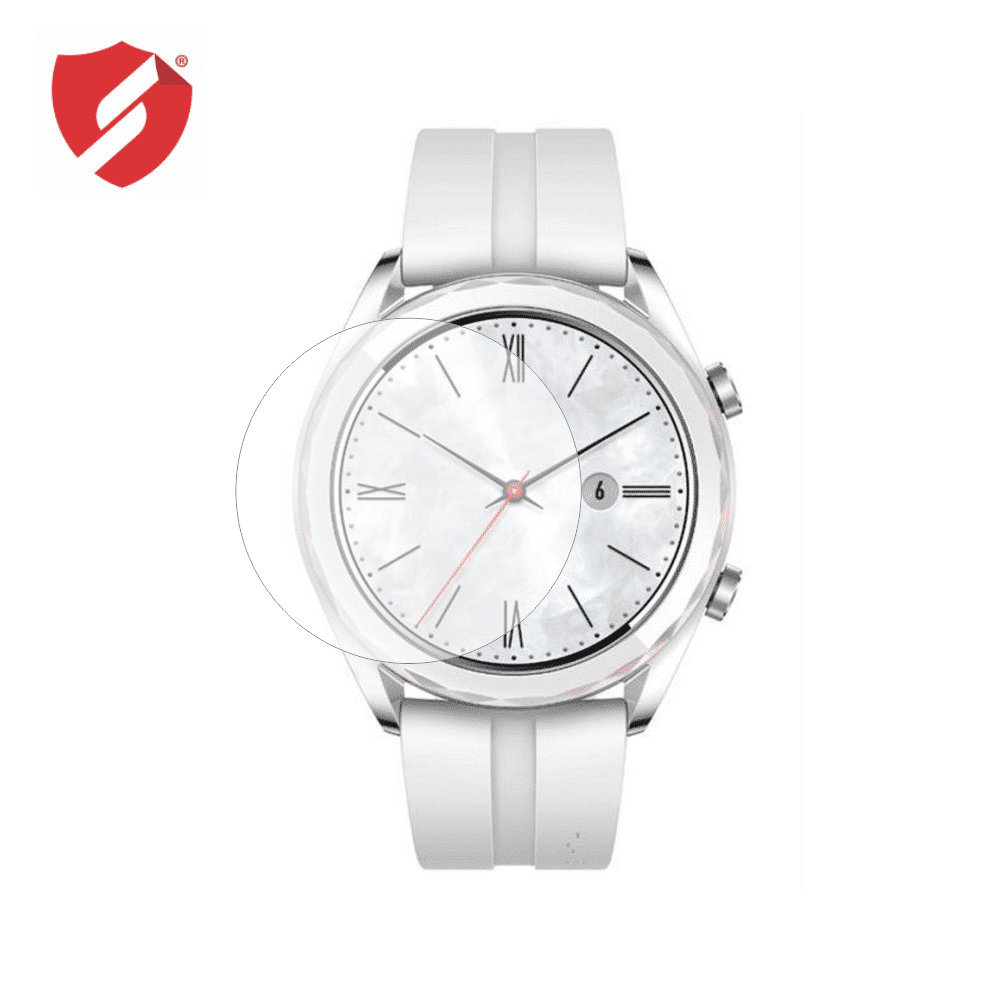 Folie de protectie Smart Protection Smartwatch Huawei Watch GT Elegant 42mm - 4buc x folie display imagine