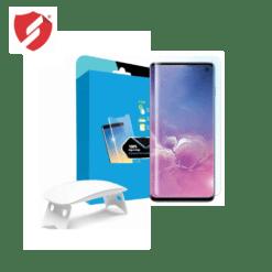 Tempered Glass - Ultra Smart Protection Liquid Loca Samsung Galaxy S10