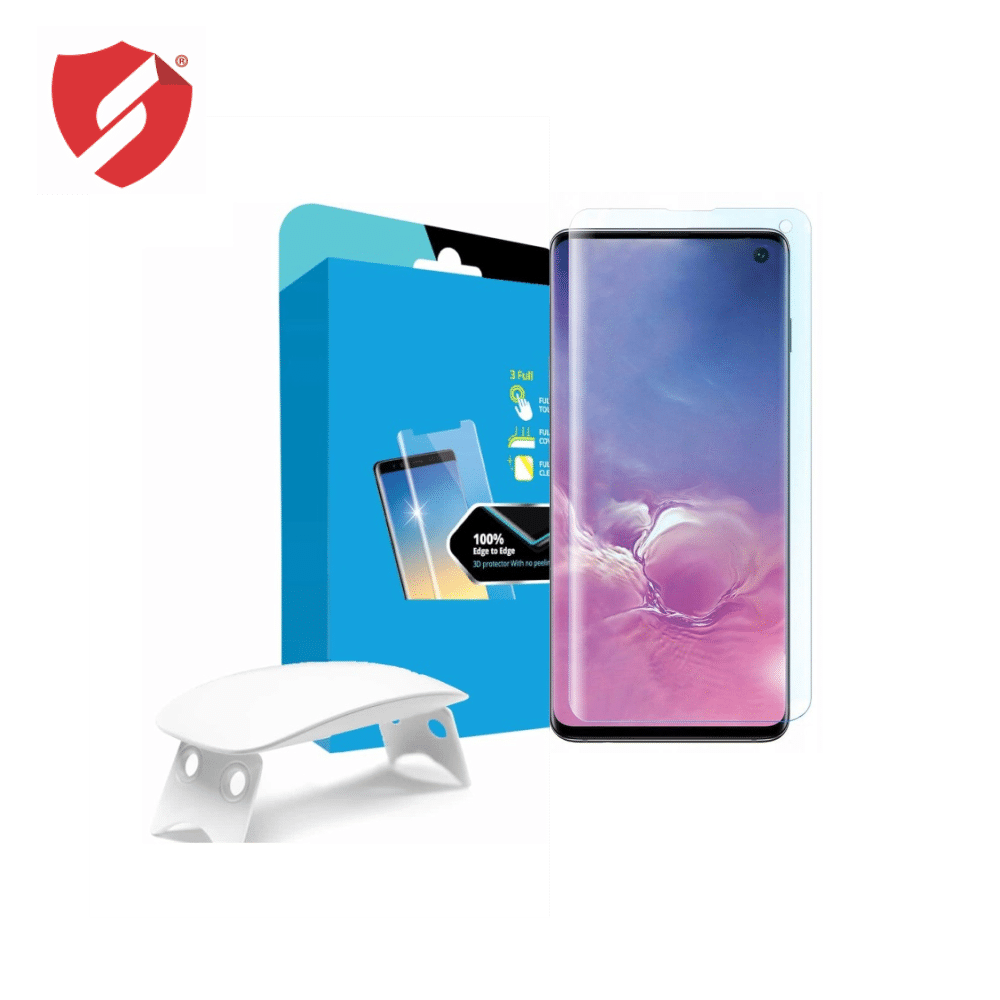 Tempered Glass - Ultra Smart Protection Liquid Loca Samsung Galaxy S10 imagine