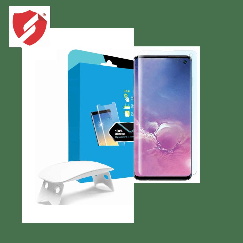 Tempered Glass - Ultra Smart Protection Liquid Loca Samsung Galaxy S10 Plus imagine