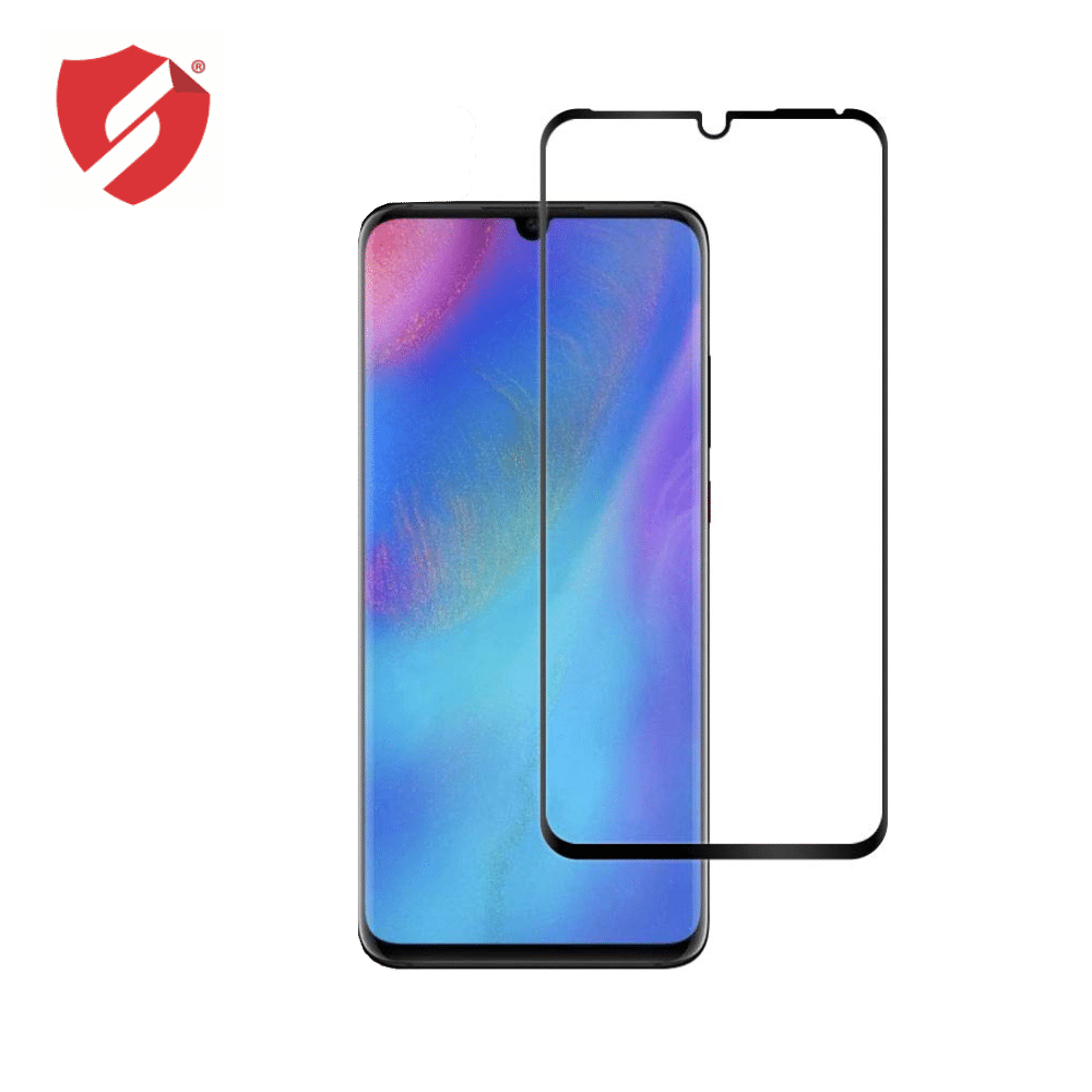 Tempered Glass - Ultra Smart Protection Huawei P30 Pro fulldisplay negru - Ultra Smart Protection Display imagine