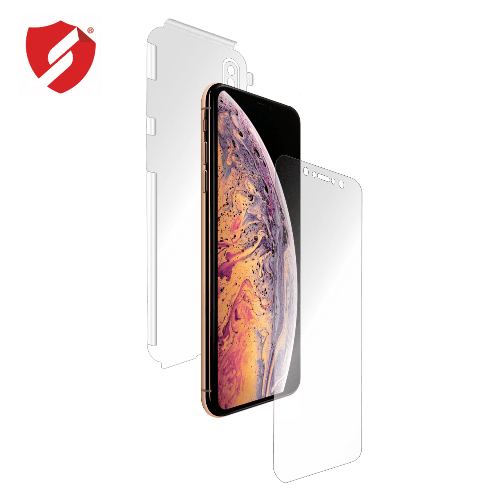 Folie de protectie Antireflex Mata Smart Protection iPhone Xs Max - fullbody - display + spate + laterale imagine