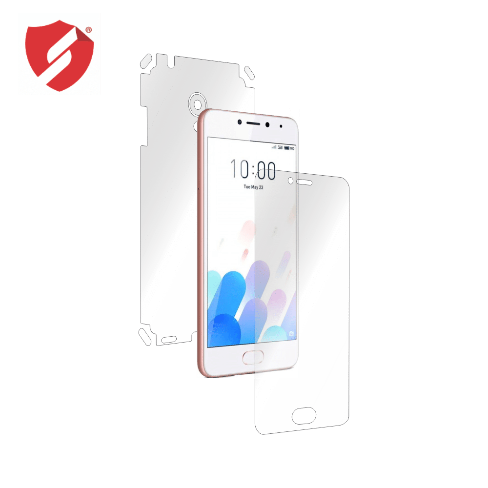 Folie de protectie Smart Protection Meizu M5C - fullbody - display + spate + laterale imagine