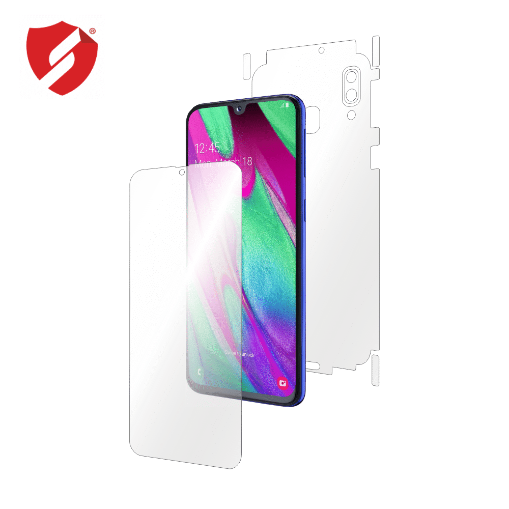 Folie de protectie Smart Protection Samsung Galaxy A40 - fullbody - display + spate + laterale imagine
