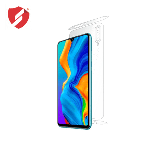 folie de protectie clasic smart protection Huawei P30 lite spate si laterale