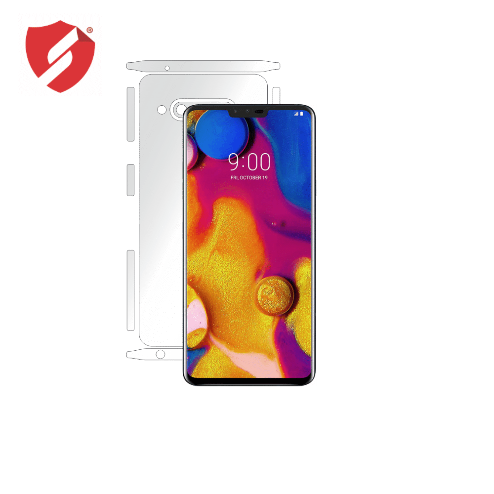 Folie de protectie Smart Protection LG V40 ThinQ - doar-spate+laterale imagine