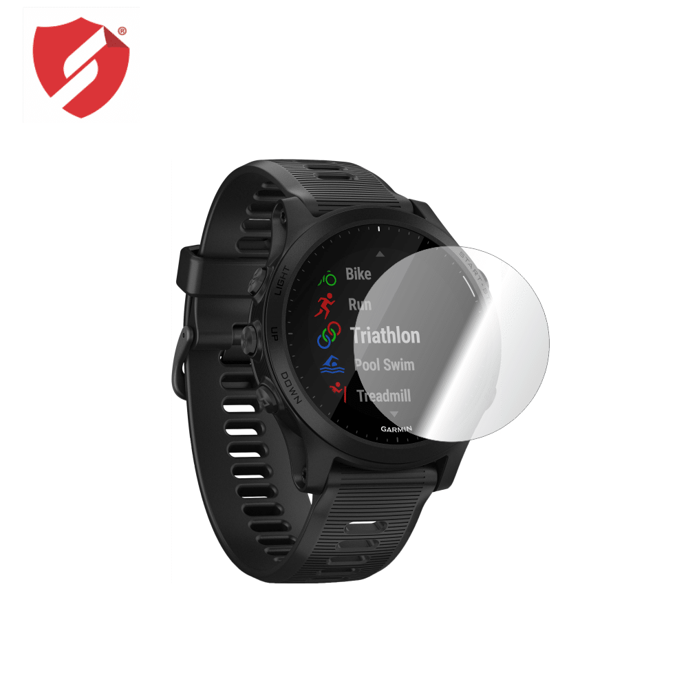 Folie de protectie Smart Protection Smartwatch Garmin Forerunner 945 - 4buc x folie display imagine