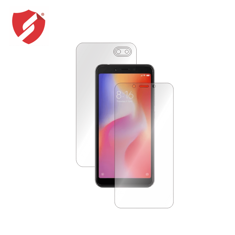 Folie de protectie Smart Protection Xiaomi Redmi 6A - fullbody-display-si-spate imagine