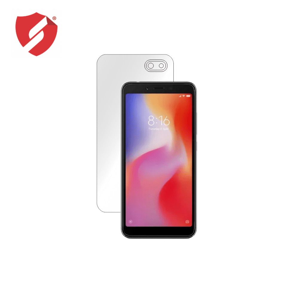 Folie de protectie Smart Protection Xiaomi Redmi 6A - doar spate imagine