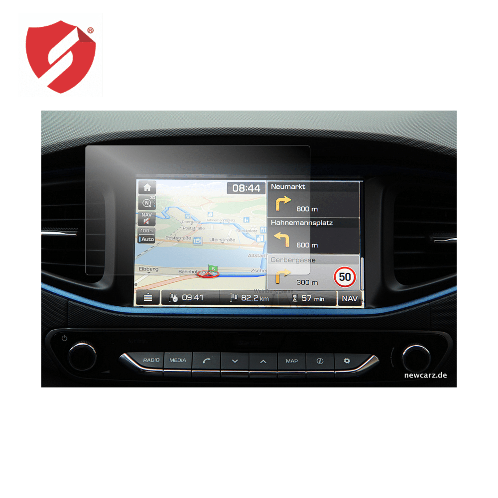 Folie de protectie Smart Protection GPS Hyundai Ioniq 2019 - 2buc x folie display imagine