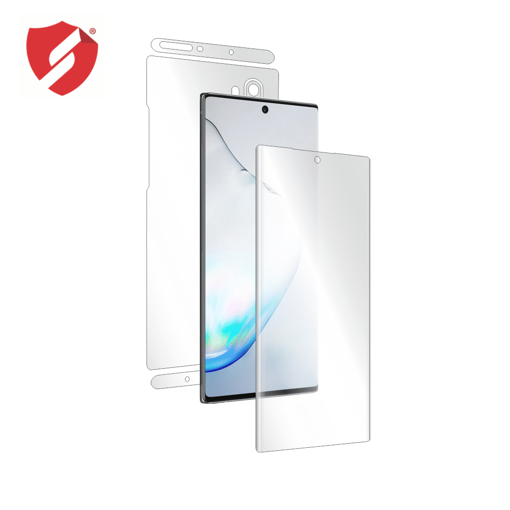 Folie de protectie Smart Protection Samsung Galaxy Note 10 Plus compatibila cu Led View / Clear View Case - fullbody-display-si-spate imagine