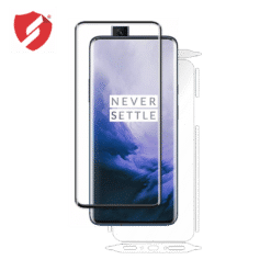 tempered glass ultra smart protection OnePlus 7 Pro fulldisplay 3d black + clasic smart protection spate si laterale