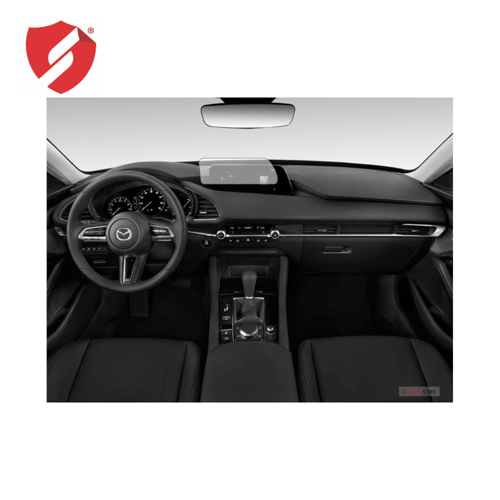 Folie de protectie Smart Protection Interior bord + Navi Mazda 3 model 2019 - doar-display imagine