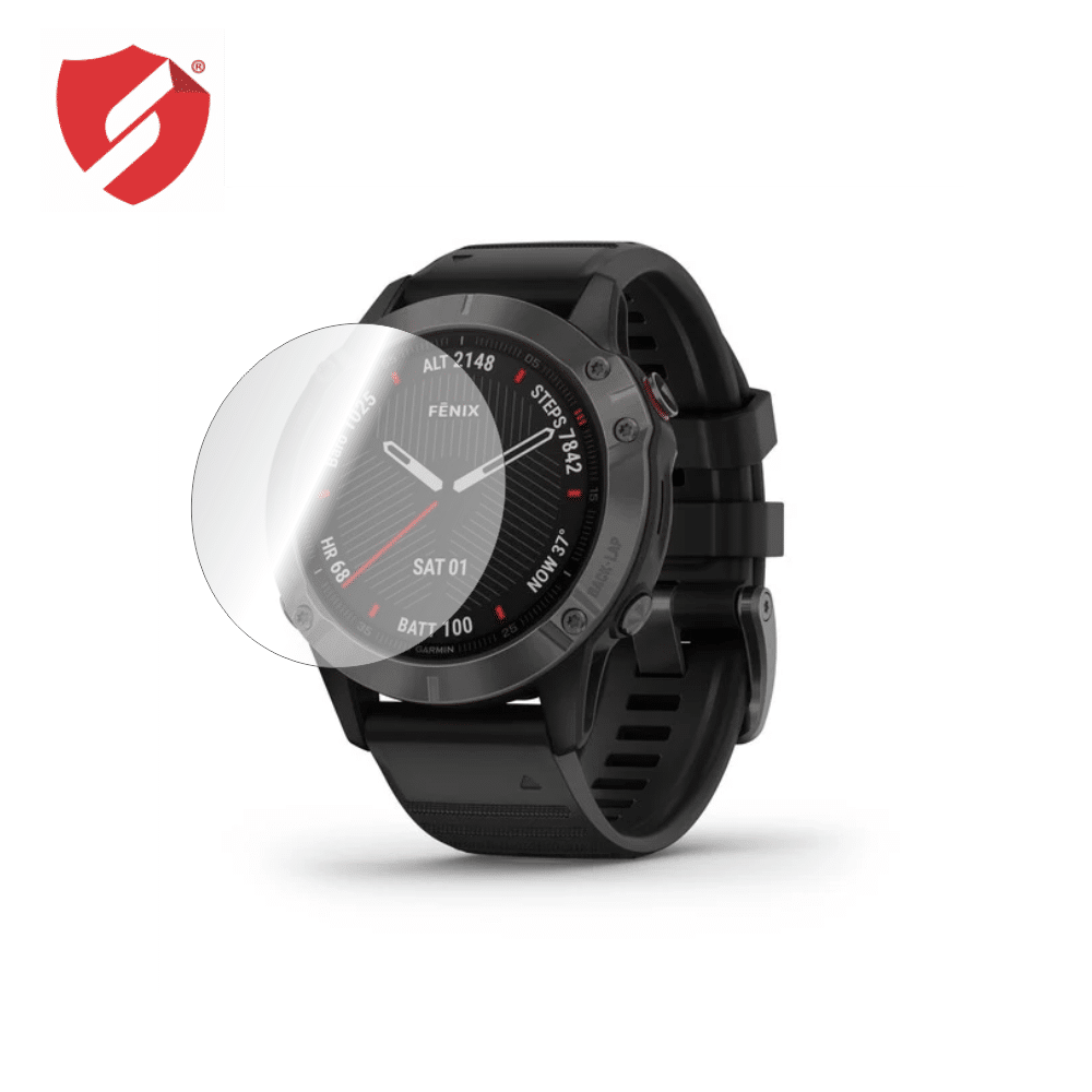 Folie de protectie Smart Protection Smartwatch Garmin Fenix 6 - 2buc x folie display imagine