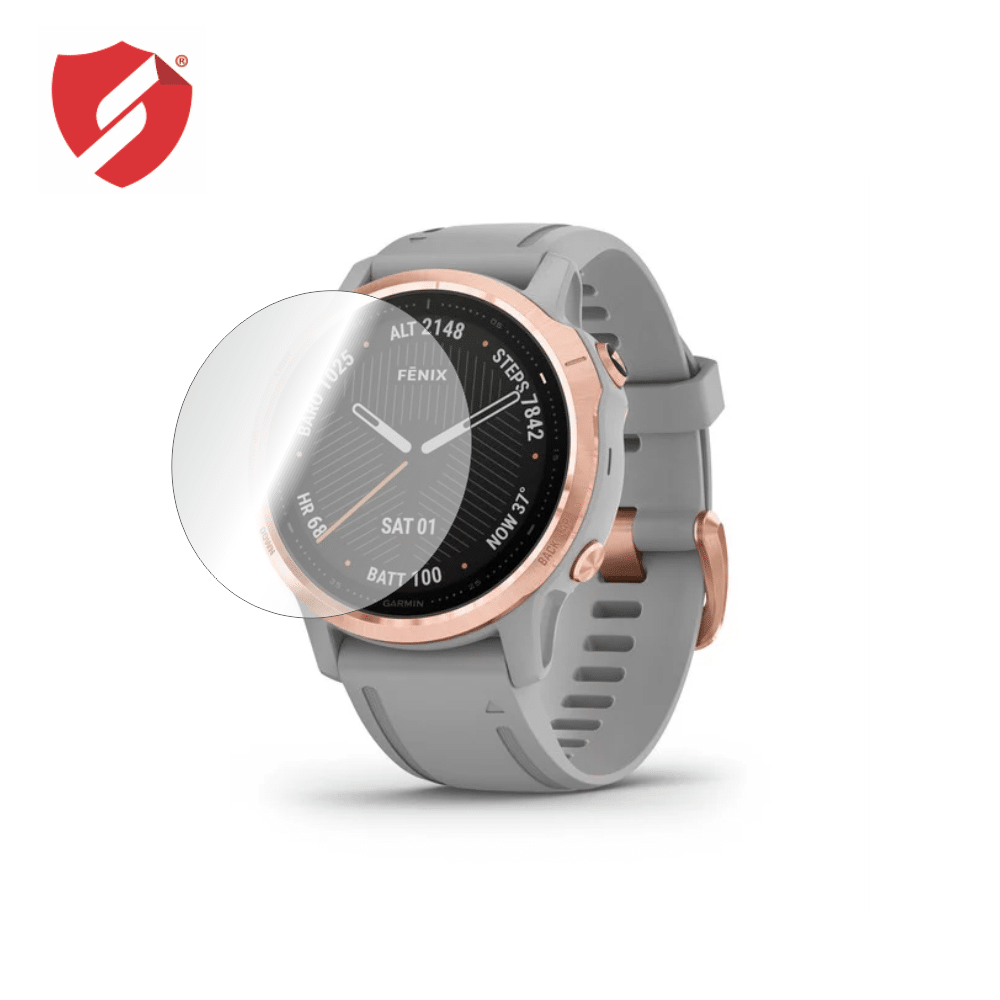 Folie de protectie Smart Protection Smartwatch Garmin Fenix 6s - 2buc x folie display imagine