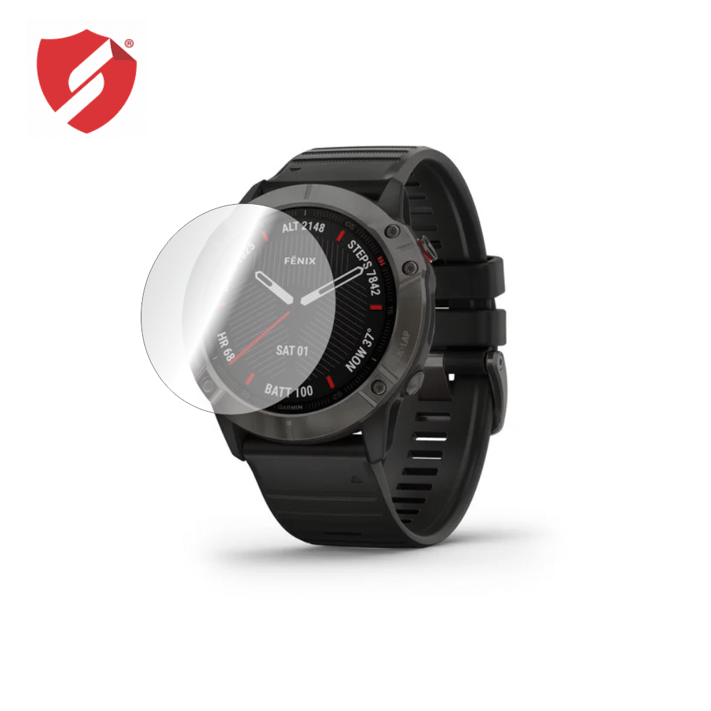 Folie de protectie Smart Protection Smartwatch Garmin Fenix 6X - 2buc x folie display imagine
